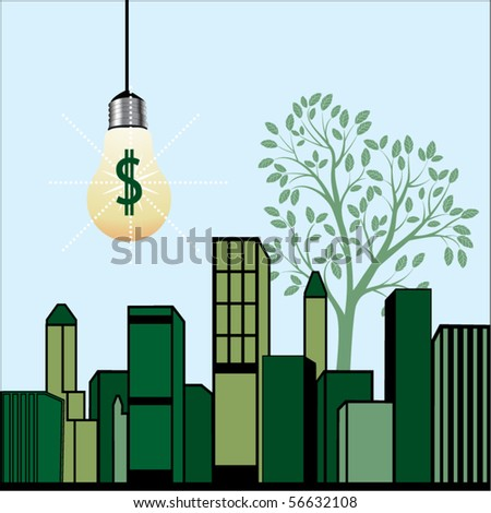 conservation concept - stock vector