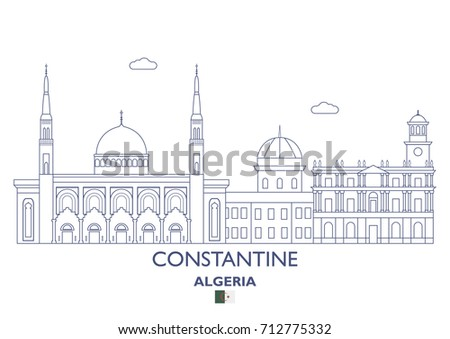 constantine linear city skyline