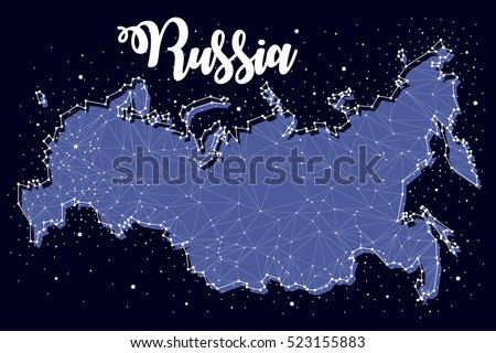 constellation russian maps