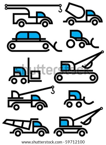 construction equipment signs