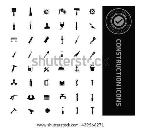 Construction icon set,vector