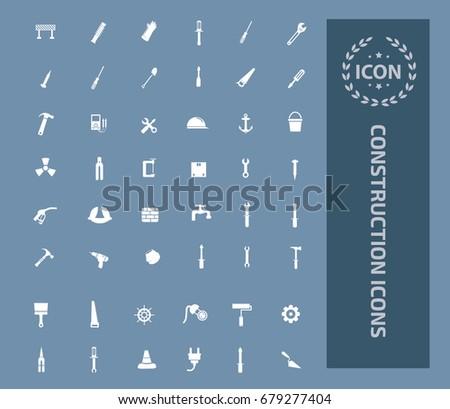 Construction icon set,vector