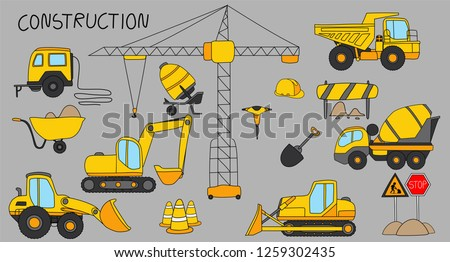 Construction machinery and heavy machinery