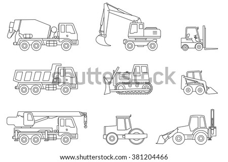 construction machines thin