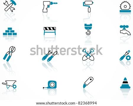 Construction symbols, contour series