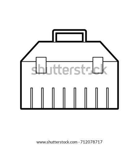 construction toolkit equipment metal box