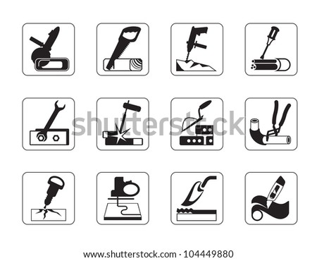 flat screen display with Stock Vector Construction Tools And Materials Vector Illustration on 123327862 Shutterstock 4 Arrow Pictogram Refresh Reload together with Medical service together with Search in addition Disability moreover Signature.