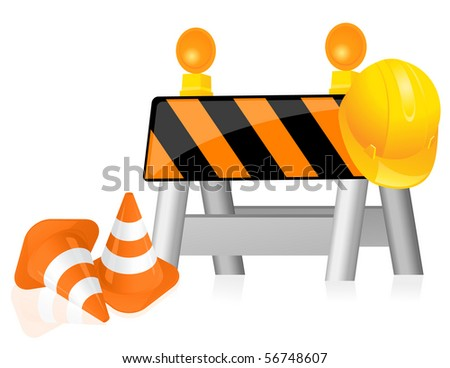 Construction, vector illustration