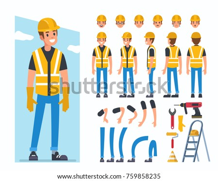stock-vector-construction-worker-character-for-animation-flat-style-vector-illustration-isolated-on-white
