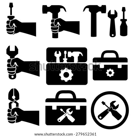Construction Worker Icon Vector Construction Worker Set Icons