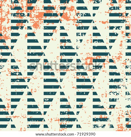 constructivism pattern in grunge style