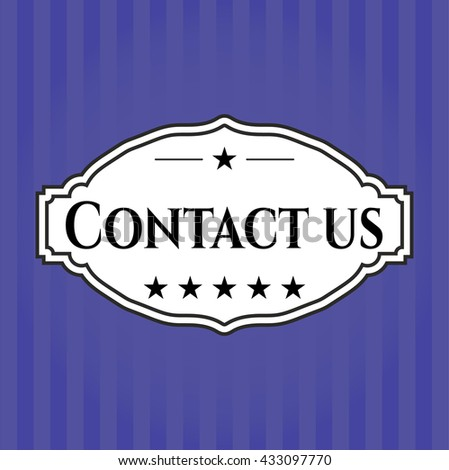 Contact us card or banner
