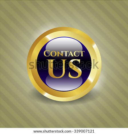Contact us gold badge