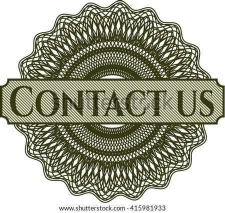 Contact us rosette