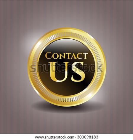 Contact us shiny badge