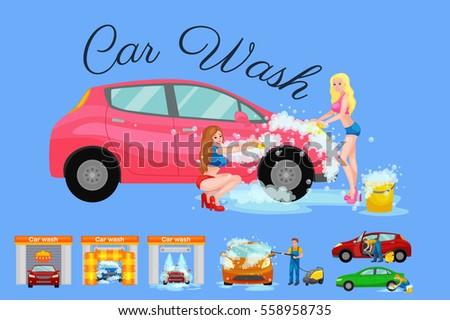 contactless car washing