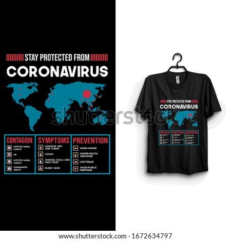 contagion,prevention and symptoms of novel corona virus. Stay protected from 2019 Pestilence Novel Corona Virus T-shirt.2019 Novel corona virus Motivational t shirt for man,women and children