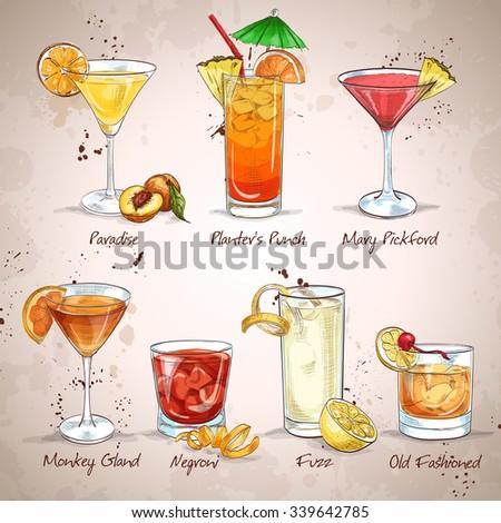 contemporary classics cocktail
