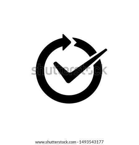 Continuous convenience simple vector icon  Сток-фото ©