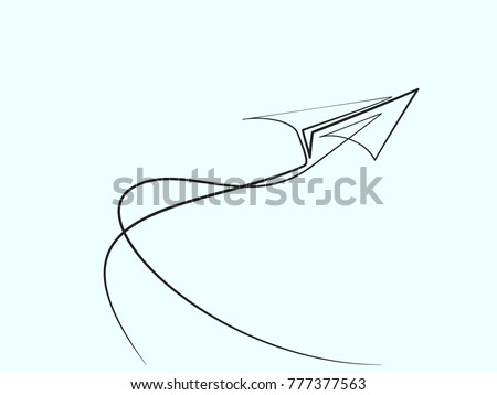 continuous line different width