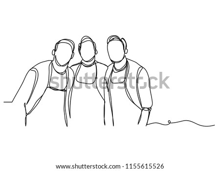 continuous line drawing of a man wearing a chef cooking distinguishes want. Preparing food