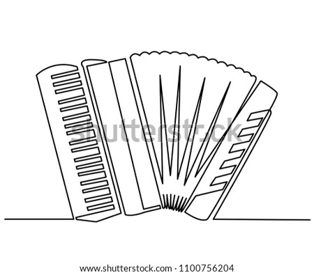 Harmonica Illustration Vector