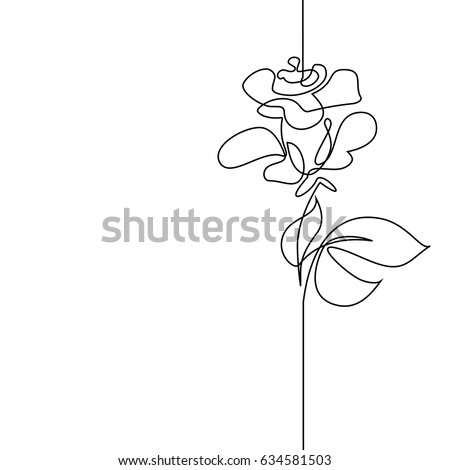 Continuous one line drawing. Flying bird logo. Black and white vector illustration. Concept for logo, card, banner, poster, flyer