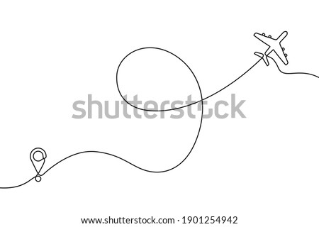 continuous one line drawing of