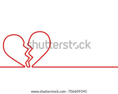 broken heart - Download Free Vector Art, Stock Graphics & Images