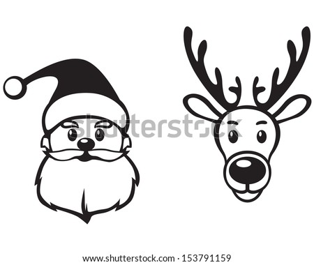 Cut Out Shapes in addition 9 together with Red Green Scarf furthermore Funny Christmas Card Moose Design Hand 88407007 moreover Put the animals in the mitten. on reindeer hat