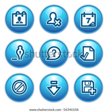 Contour web icons 2
