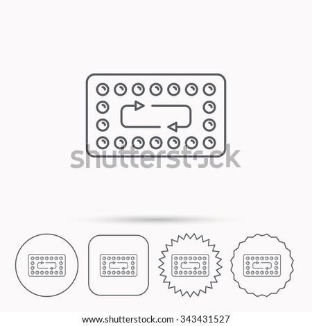 contraception pills icon