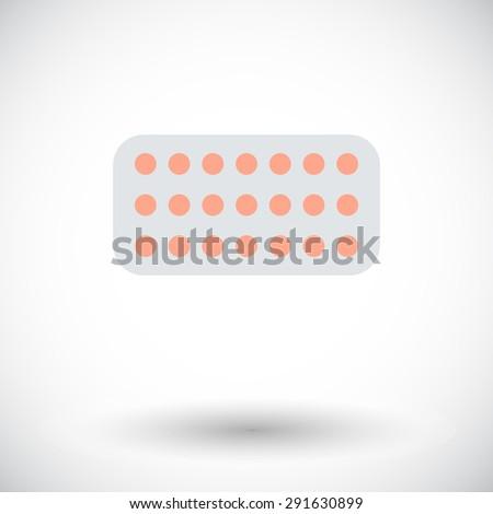 contraceptive pills flat