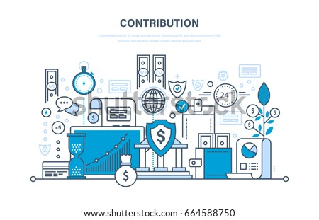 contribution  investment ...