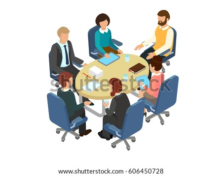 conversation at the round table