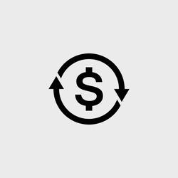 Convert flat vector icon