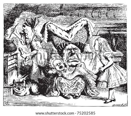 cook  duchess  cheshire cat