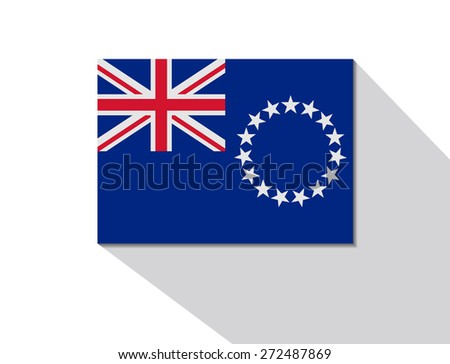 cook islands long shadow flag