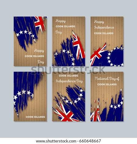 cook islands patriotic cards