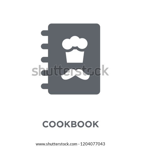 Cookbook icon. Cookbook design concept from Restaurant collection. Simple element vector illustration on white background.