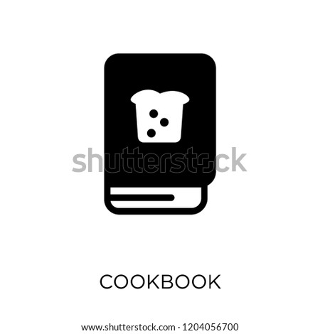 Cookbook icon. Cookbook symbol design from Restaurant collection. Simple element vector illustration on white background.