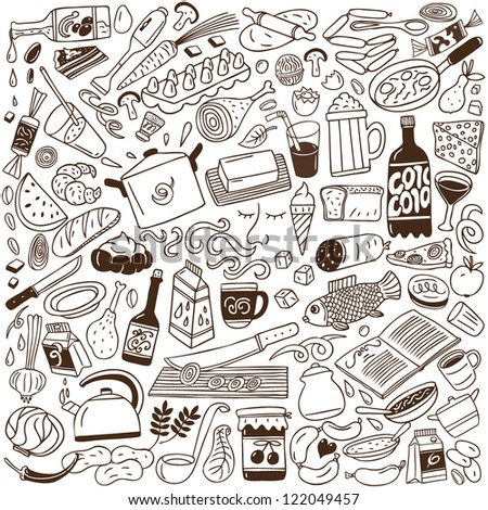 Cookery - doodles collection