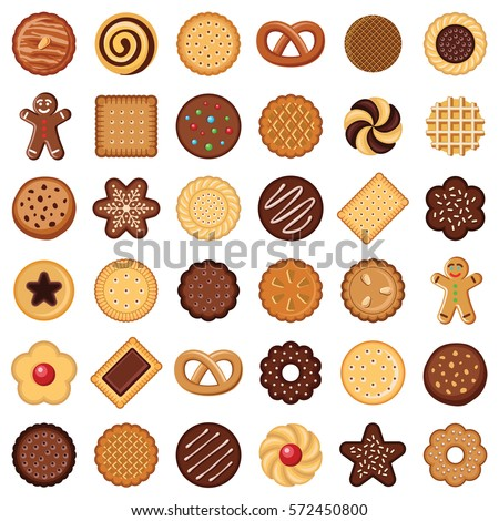 cookie and biscuit icon