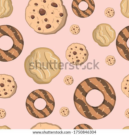 cookie girl scout pattern seamless texture Stock photo ©