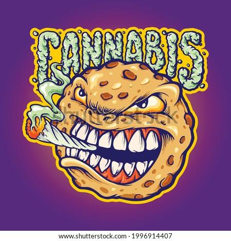 cookies smoke cannabis mascot