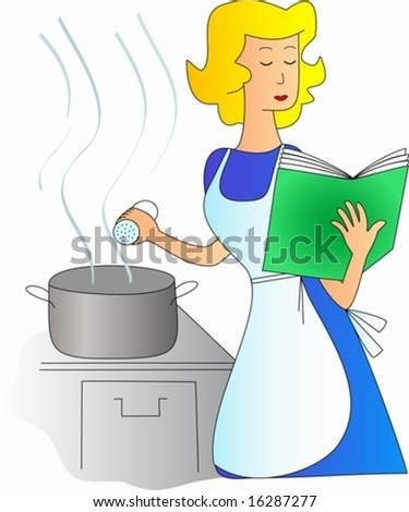 cooking a dish according to a recipe