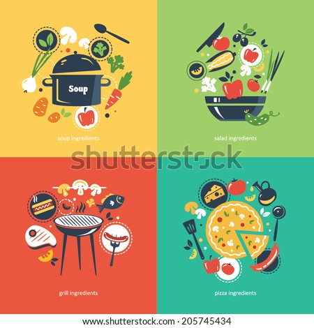 cooking collection compositsion