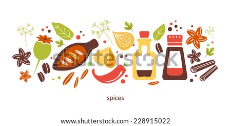 cooking objects spices