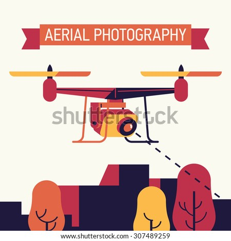 cool aerial photography flat