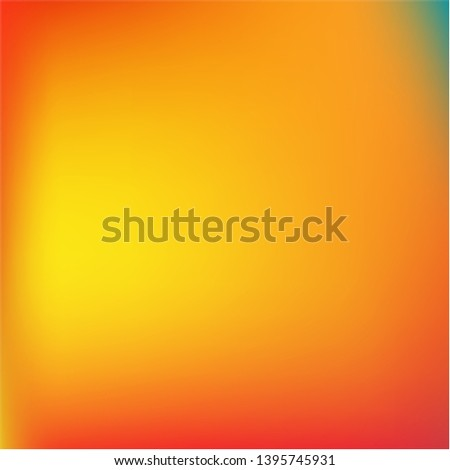 Cool backdrop from simple patterns. Amazing splash and spreading spot. Vector illustration concept. Orange beautiful backdrops for use on modern electronic devices.